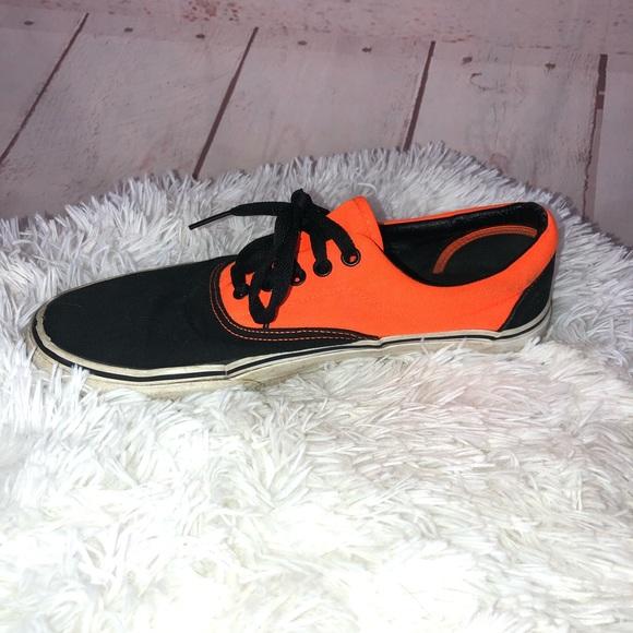 Vans Shoes   Classic Orange And Black